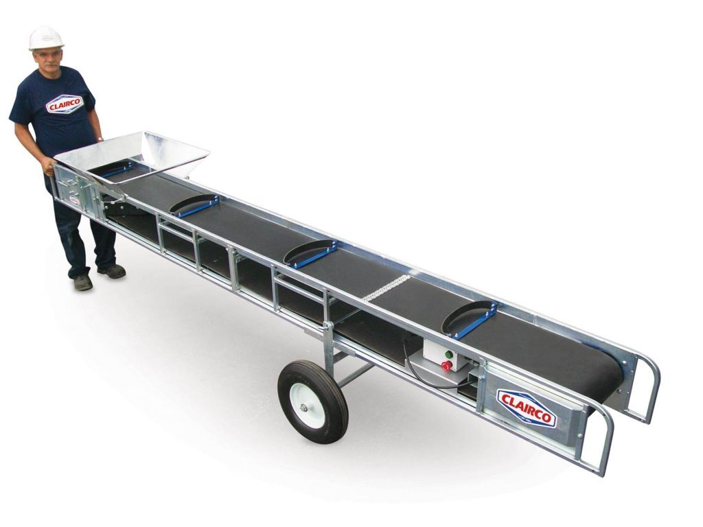 Picture of Lightweight Portable Conveyer Rental — Clairco CONV-12L