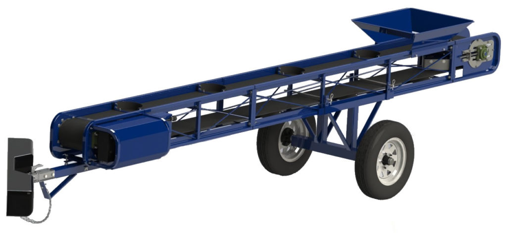Rent Flat Belt Portable Conveyers from the Duke Company in Upstate NY