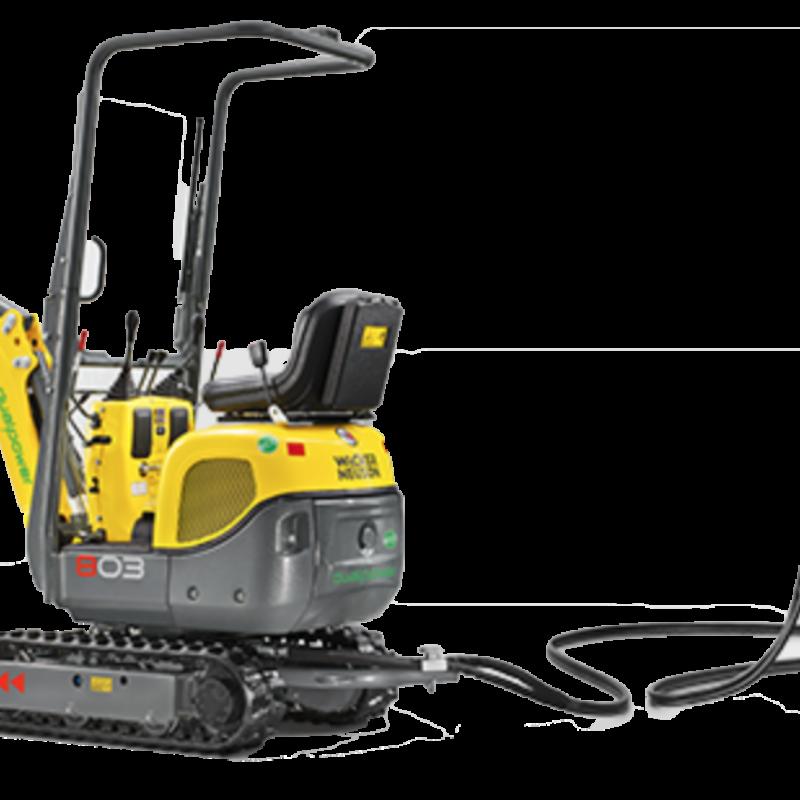 Hydraulic Power Unit for Compact Excavator Rental - Wacker Neuson HPU8