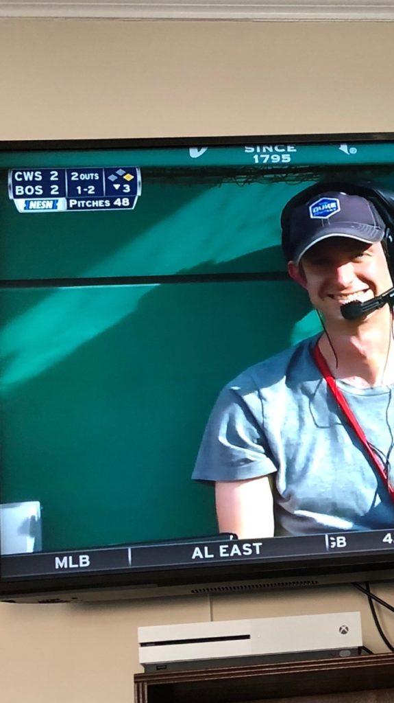 Red Sox TV - Duke Company - Equipment Rental in Upstate NY