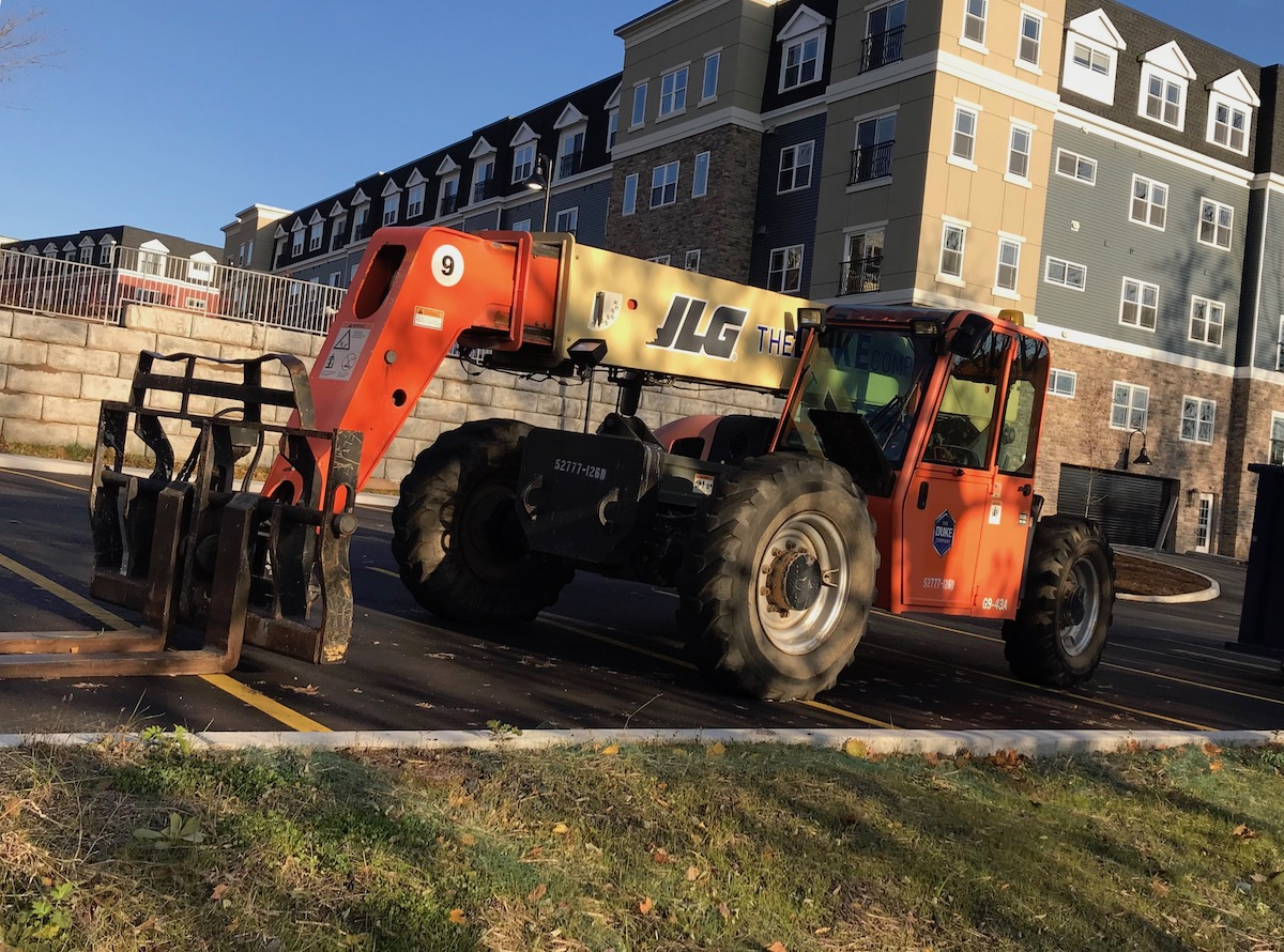 Picture of JLG Reach Forklift for Rent by The Duke Company in Rochester NY Ithaca NY and Dansville NY