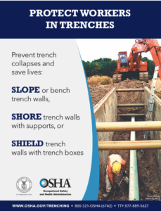Duke Trench Equipment Rental - Trench Safety and Trench Rental Information - OSHA and The Duke Company in Upstate N