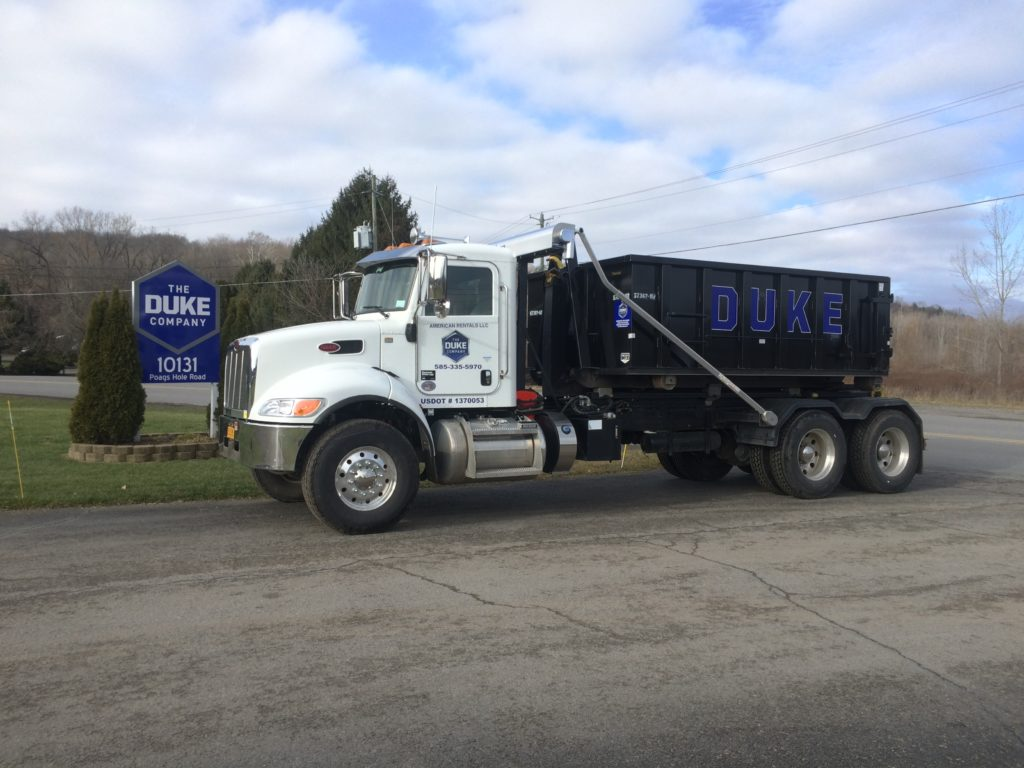 Duke Rentals Upstate NY Roll Off Containers