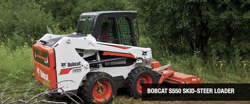 The Duke Company - Bobcat Rentals in Upstate NY - Bobcat S550 Wheeled Skidsteer Rental