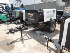 Duke Rentals - 185-CFM-Air-Compressor-Rental-Allmand-185 - Upstate NY & Rochester NY