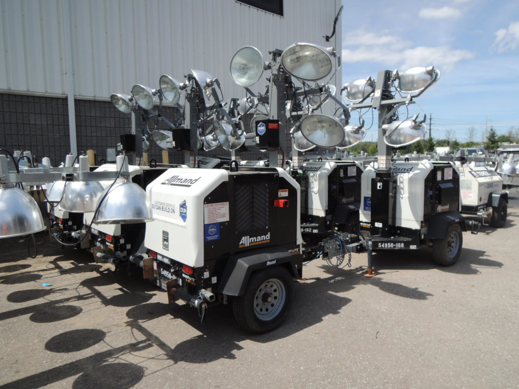 Duke Rentals Rochester - Light Tower Rental - Rochester NY - AllmandML8-V-Lights-Down-KO_002-1-800x800_c
