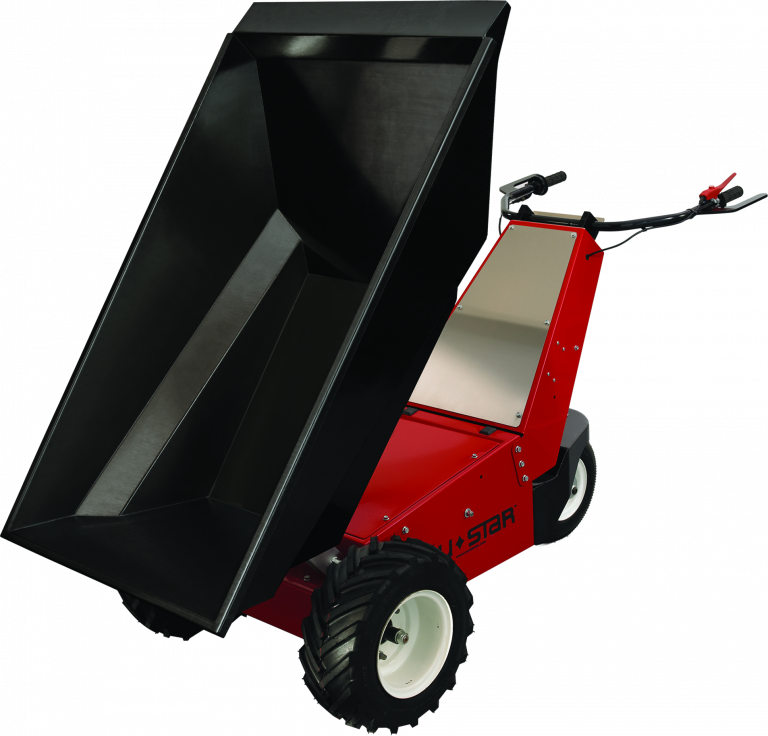 The Duke Company Power Pusher E-750-electric-wheel-barrow-Rental