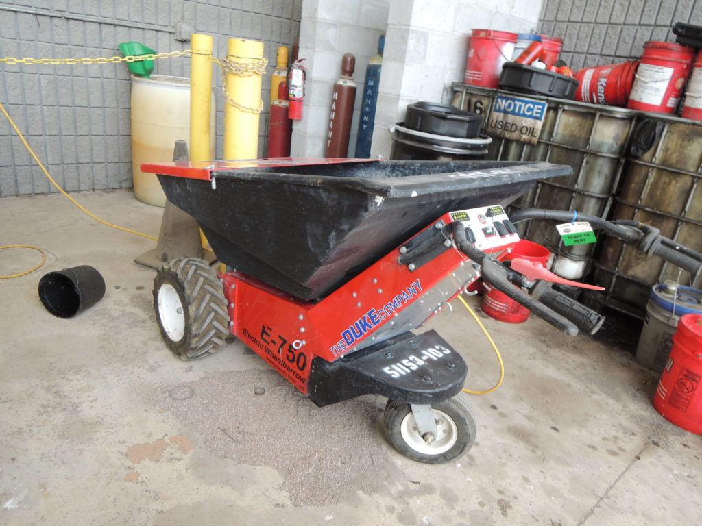 The Duke Company and Duke Rentals - Power-Pusher Electric Wheel Barrow Rental | Rochester, Ithaca, Dansville & Auburn NY