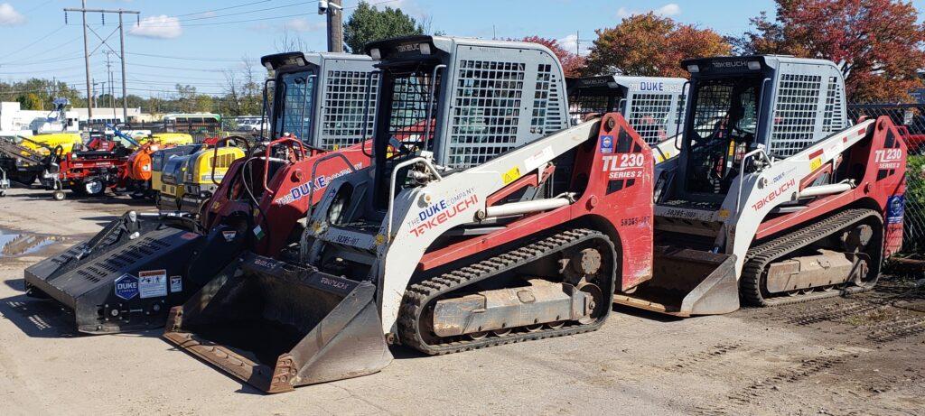 Duke Rentals - Track Skid Steer Rental | Takeuchi TL230 Series 2 | The Duke Company | Rochester | Ithaca | Dansville | Auburn | Upstate New York