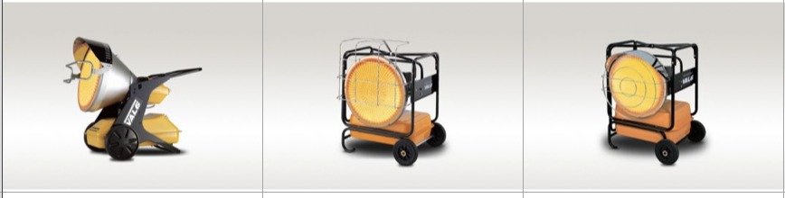 The. Duke Company in Upstate NY - Infrared Space Heaters for Rent - Val6 Models EPX, KBE5S and KBE5L