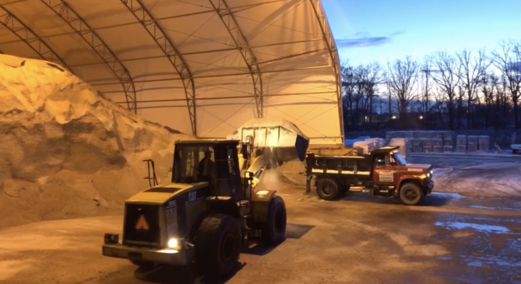 Bulk Rock Salt in Rochester NY - The Duke Company's Salt Barn