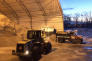 Bulk Rock Salt in Rochester NY - The Duke Company's Salt Barn