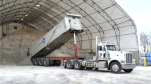 Duke Rentals and The Duke Company's Bulk Rock Salt and Road Salt - Salt Barn in Rochester NY