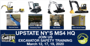 The Duke Company - MS4 Compliance in Yew York - Excavator Rental