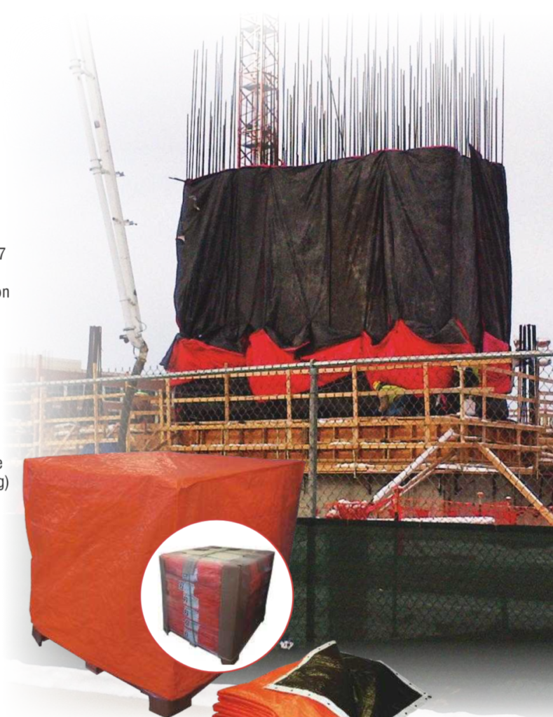 The Duke Company 0 Looking for Insulating Concrete Forming and Curing Blankets? | Premium Grip-Rite Foam Blankets