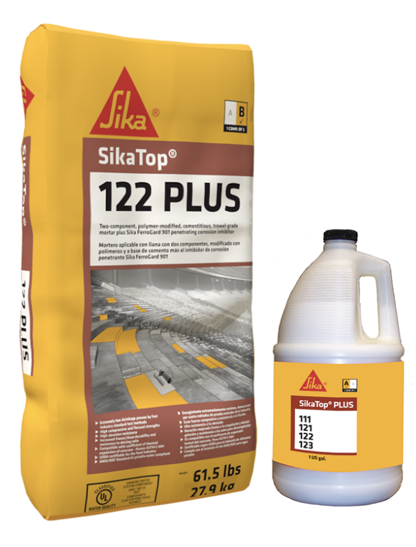 SikaTop®-122 Plus by Sika - The Duke Company in Upstate NY