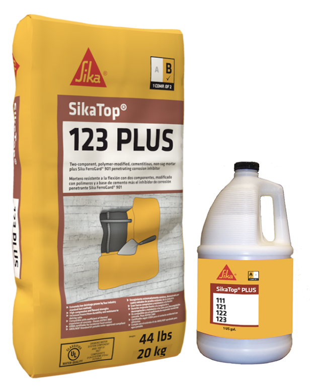 SikaTop®-123 Plus by Sika - The Duke Company Upstate NY
