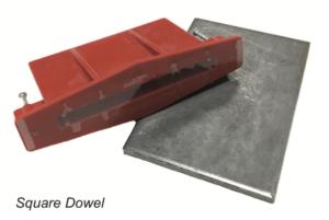 Square Dowels | SureBuilt | Concrete Construction Joints - The Duke Company