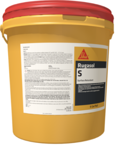 Looking for Surface Retardant for An Architectural Finish Exposed Aggregate? Sika Rugasol S - The Duke Company - Professional Building Supplies in Western NY