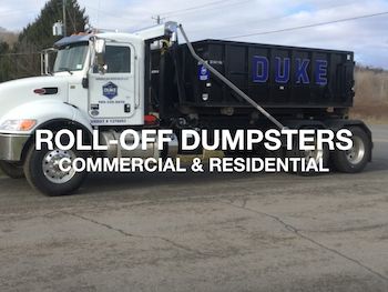 Rent Rolloff Containers and Dumpsters from The Duke Company in Rochester and Upstat3e NY