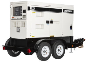 Portable Generator Rental on Trailer - MQ Power 70 - The Duke Company and Duke Rentals - Rochester, Ithaca, Dansville and Auburn NY