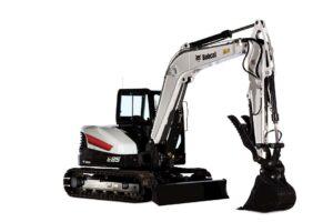 Rent Bobcat E85 Compact Excavator Rental from Duke Rentals and The Duke Company | Rochester NY | Ithaca NY | Dansville NY | Auburn NY