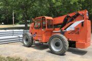 Rent a Powerful 8,000 Pound Reach Forklift in Upstate New York | JLG 8042 SkyTrak Telehandler from The Duke Coimpany and Duke Rentals